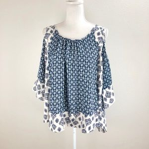 Jodifl cold shoulder blouse